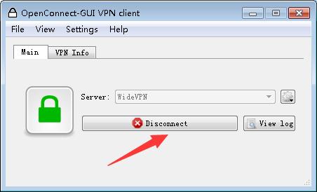 widevpn-openconnect vpn setup